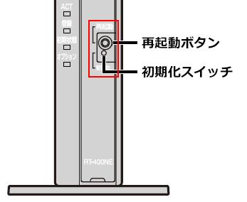 So Net 光の設定の初期化方法を知りたい ルーターのパスワードが分からない 会員サポート So Net